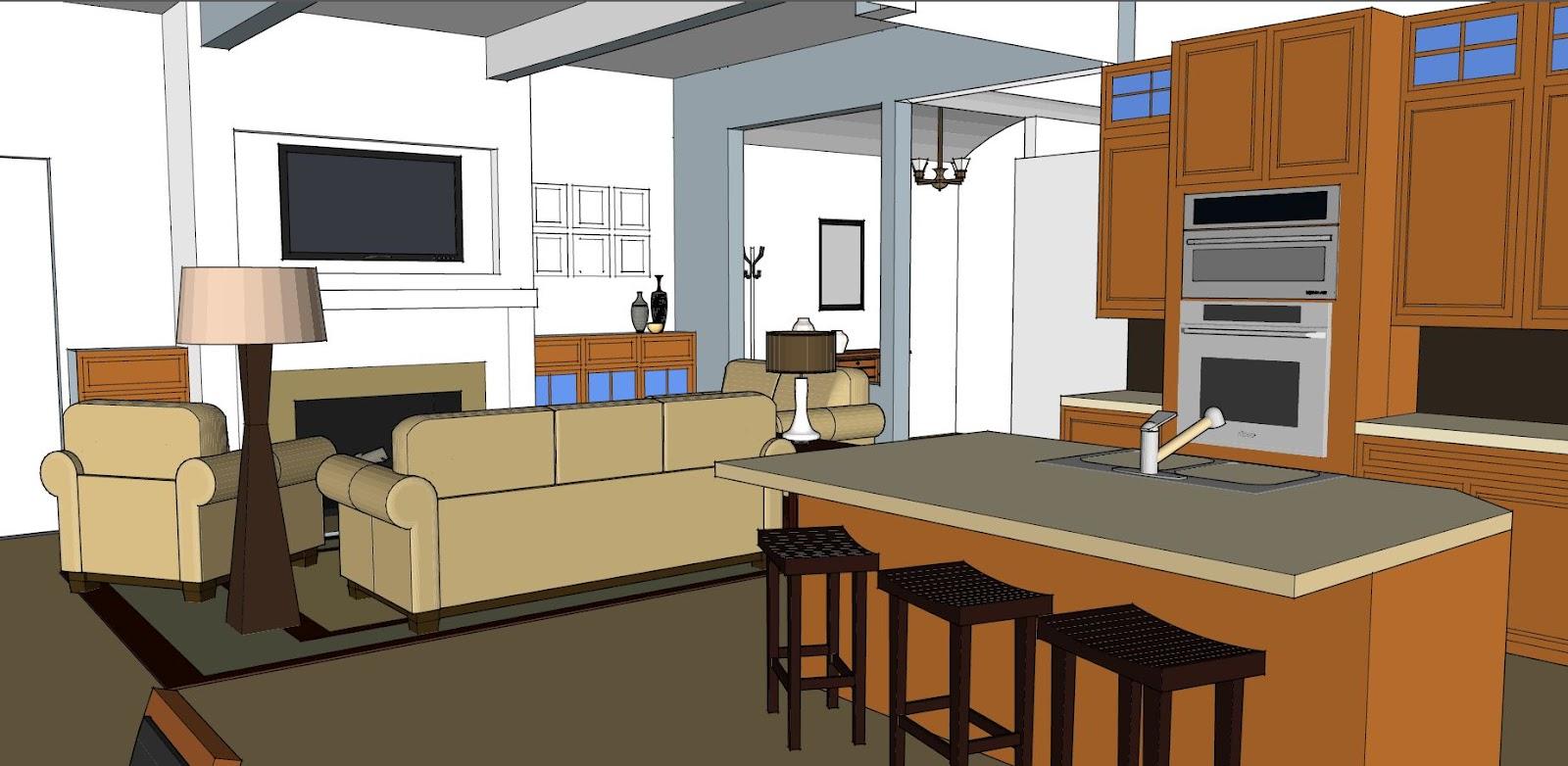 Giới thiệu mô hình 3D trong thiết kế nội thất